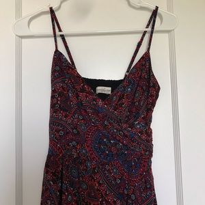 ABERCROMBIE Patterned Wrap Dress